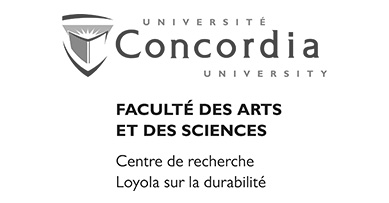 Université Concordia - Centre de recherche Loyola sur la durabilité Logo